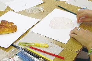 3ステップで描く色鉛筆画